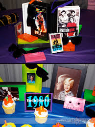 80s party table decorations totally awesome 80 s neon birthday party ideas and party printables
