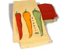 Chili Pepper Kitchen Decorating Themes - red chili peppers clock red chili peppers and red chili
