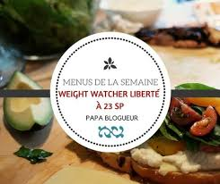 recette de cuisine weight watchers menu de la semaine 23 smart points weight