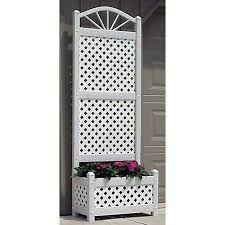 enchanting lattice planter with trellis 44 for your home