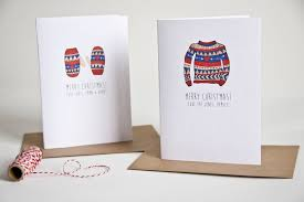 personalised printed christmas cards chrismast cards ideas
