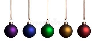 rainbow ornaments stock image image 3433931