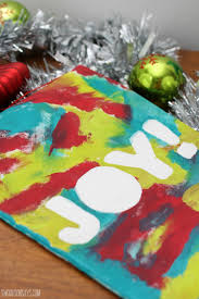 Homemade Christmas Gifts For Toddlers - diy christmas wall decoration that kids can make swoodson says