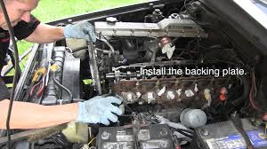 toyota waterpump and timing belt replacement tutorial hzj 1hdt