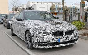 next bmw 5 series g30 sedan spied in m sport trim