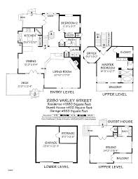 luxury guest house plans detached guest house plans floor modern