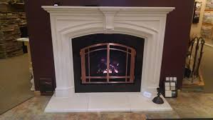 Cfm Corporation Fireplace by Mendota Dxv 35 Gas Fireplace With Dracme Real Stone One Piece