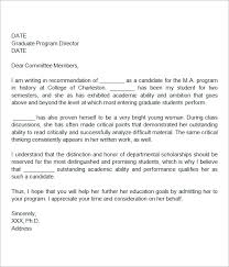 recommendation letter example law recommendation letter