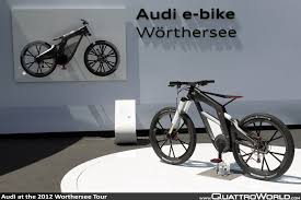 audi bicycle audi at the 2012 worthersee tour quattroworld