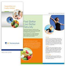 nutrition brochure template brochure nutrition brochure template