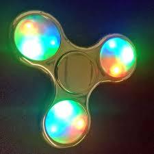 a light up fidget spinner fidget spinners that light up light light info