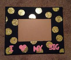 sorority picture frames 116 best big picture frames images on pi beta