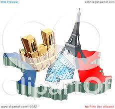 tourist attractions of notre dame de paris cathedral eiffel tower