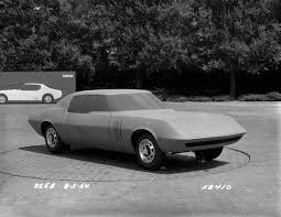 vintage corvette drawing chevrolet camaro clay mock up project xp 836 nicknamed panther