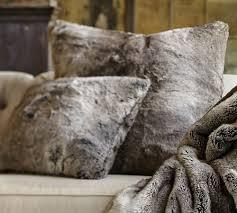 faux fur throw pillow ideas u2013 home decoration ideas wonderful
