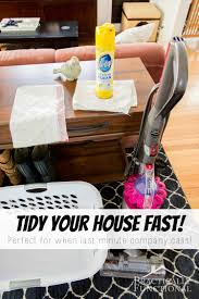 how to clean house fast how to tidy your house fast easy house and organizing