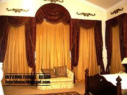 Latest Classic Curtain Designs Style For Bedroom - Design of curtains in bedroom