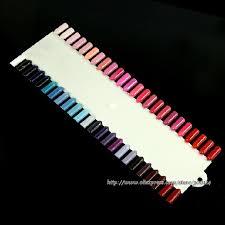 wholesale new nail salon supplies 48 colors display paint chart