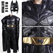Batman Dark Knight Halloween Costume Aliexpress Buy Batman Costume Dark Knight Arkham Asylum