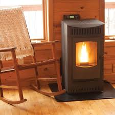 castle 1 500 sq ft pellet stove with 40 lb hopper and auto