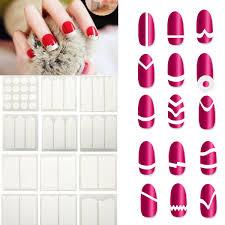 aliexpress com buy acevivi nail art white french manicure guide