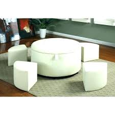 Ottoman Storage Coffee Table Coffee Table With Storage Ottomans Storage Ottoman Coffee Table