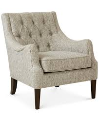 Tufted Accent Chair Glenis Tufted Accent Chair Ship Furniture Macy S