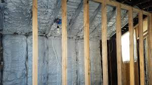 Spray Insulation For Basement Walls You Get What You Pay For The Risk Of Cheap Spray Foam Insulation