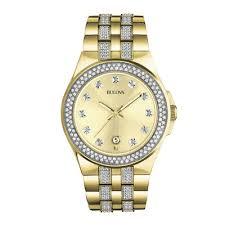 bulova bracelet images Bulova mens gold tone bracelet watch 98b174 jcpenney