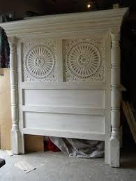 Diy Door Headboard Door To Headboard Furniture Pinterest Doors Bedrooms And