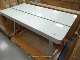 tresanti sit to stand power height adjustable tech desk costco tresanti desk puter desk furnishings desktop metal choose