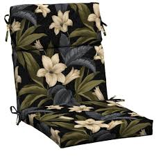 High Back Patio Chair Cushions Amazing Of High Back Patio Chair Cushions Hton Bay Black