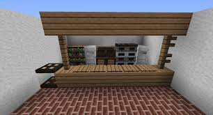 minecraft interior design kitchen modern furniture minecraft interior design