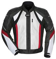 white leather motorcycle jacket cortech vrx air jacket revzilla