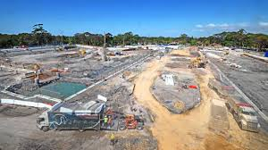 northern beaches hospital construction time lapse video april