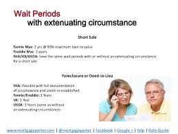 Extenuating Circumstances Buying A Home Again After A Short Sale Or Foreclosure