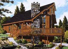 chalet building plans plan 99919mw rustic chalet mountain vacations porch and