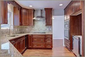 kitchen cabinets with crown molding door molding designs luxury oak wood red shaker door kitchen