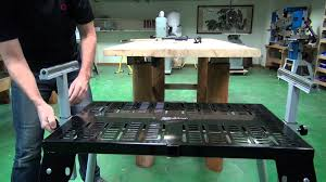 table excellent heavy duty work bench with retractable wheels