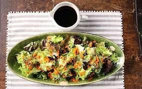 harumi kurihara recipe crisp salad with grated carrots and a