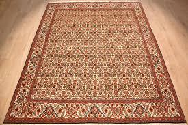Bidjar Persian Rugs by Teppich Persian Carpet Bidjar Wool 252x197 Cm Beige