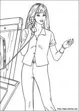barbie coloring pages coloring book