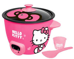 kitty rice cooker u2013 pink app 43209 kitty
