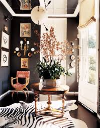 Animal Print Furniture Home Decor by Traditional Entrance Hall By Kelly Wearstler And Brian Tichenor In