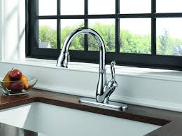 leland delta kitchen faucet delta 9178 dst leland single handle pull kitchen faucet