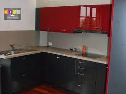 meuble de cuisine sur mesure indogate cuisine plan de travail gris meuble sur mesure en