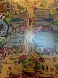 Pirates Of The Caribbean Map by Details In Animated Vintage Disneyland Map At Disneyland Hotel
