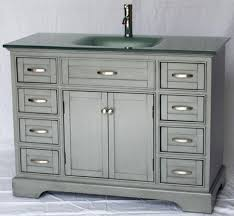 shaker style bathroom vanity cabinets inch cabinet beach glass top