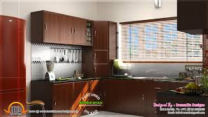 modren kitchen design kerala houses of impressive wooden interior