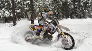 Dirt Biking In A Winter Wonderland Megs Braap